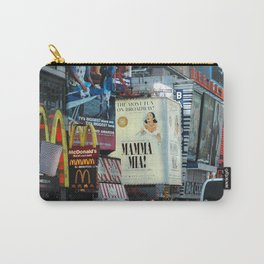 Mamma Mia Broadway New York painted Photorealism Carry-All Pouch