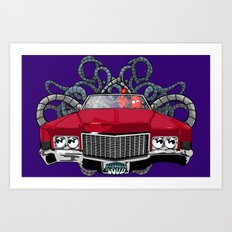Caddy Art Print