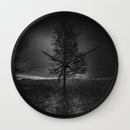 On the wrong side of the lake 3 Wall Clock