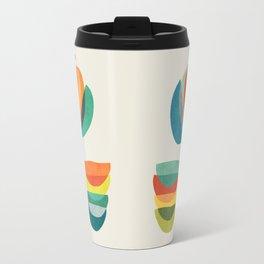 Whimsical Bloom Travel Mug