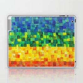 Chakra Rainbow Tiles Laptop & iPad Skin