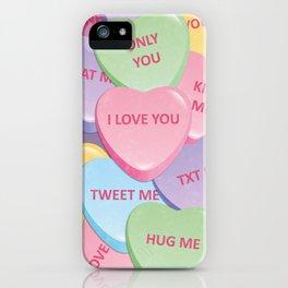 Valentine's candies iPhone Case