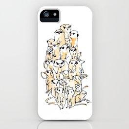 Wild Family Series - Meerkat iPhone Case