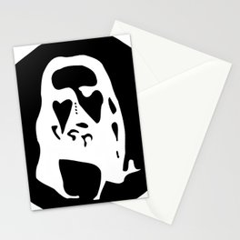 Optical Illusion - After Image - Jesus Christ Stationery Cards