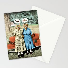 Two Cool Kitties: What's for Lunch? Stationery Cards