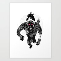 run Art Prints featuring RUN by Heiko Windisch