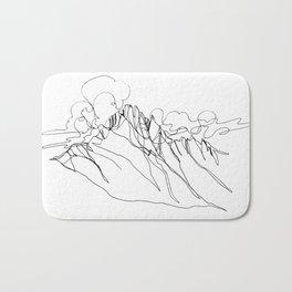 Alpha - Single Line Bath Mat
