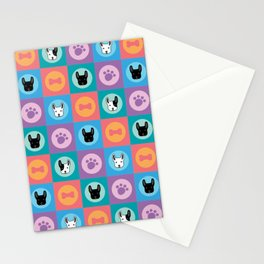 Frenchies Stationery Cards