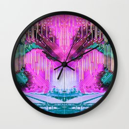 HQ Space Booty Wall Clock