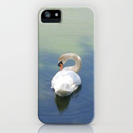 Swan iPhone Case