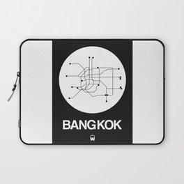 Bangkok White Subway Map Laptop Sleeve