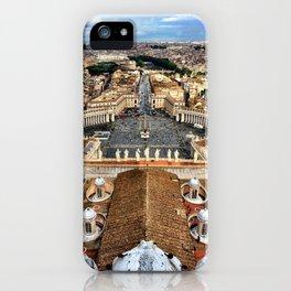 High Above The Vatican - Basilica di San Pietro iPhone Case