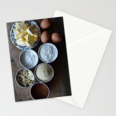 Cake ingredients Stationery Cards