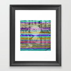 Or like a resignation unto cyclical determination. Framed Art Print
