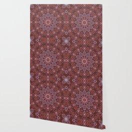 Jubilee feather mandala Wallpaper