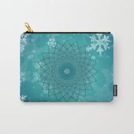 Ice Mandala Carry-All Pouch