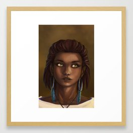 Seers Isle: Arlyn Framed Art Print