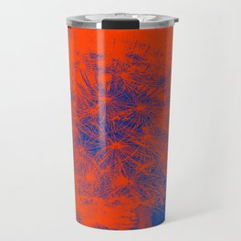 Blue and Red Travel Mug