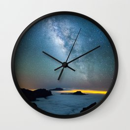 La Palma Milky Way Wall Clock