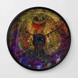 Solar Crown Chakra Wall Clock