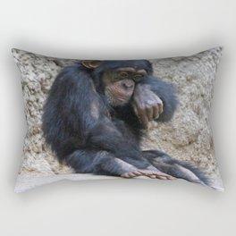 Chimpanzee 016 Rectangular Pillow