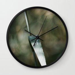 Heavy Hearts, Soft Tears Wall Clock