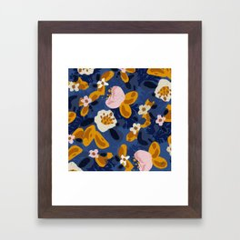 Bouncy Florals No. 2 Framed Art Print