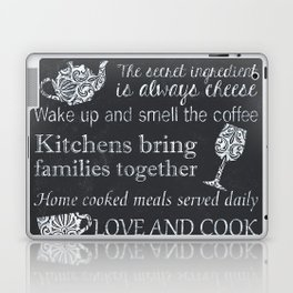 This Kitchen is Seasoned With Love Laptop & iPad Skin