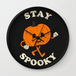 Stay Spooky  Wall Clock