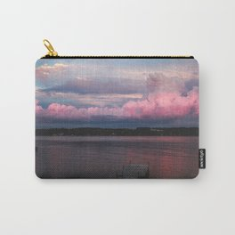 Pink Sunset at the Lake Carry-All Pouch