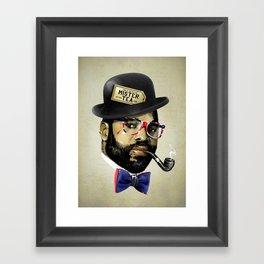 MISTER TEA Framed Art Print