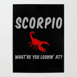 Scorpio: What Are You Looking At? Poster