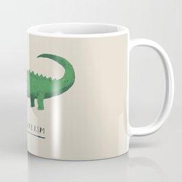 croc cannibalism Coffee Mug