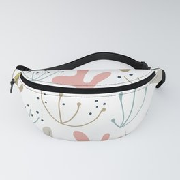 Abstract Pastel Cactus Artwork Fanny Pack