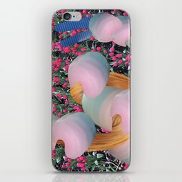 Cotton candy spring iPhone Skin