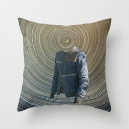 61 - the point at which the sky appears to turn Throw Pillow