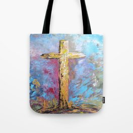 Colors of the Cross Tote Bag