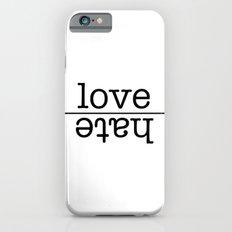love conquers all iPhone 6s Slim Case
