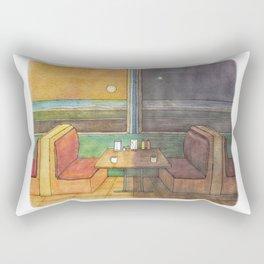 Diner Days, Diner Nights Rectangular Pillow