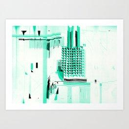 B_map Art Print