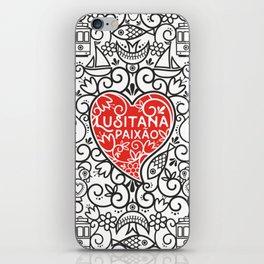 Lusitana Paixão iPhone Skin