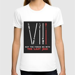 Episode XVIII - May the force be with the last Jedi T-shirt