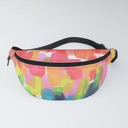 Neon Rainbow Fanny Pack