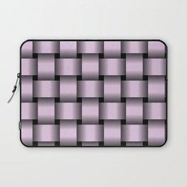Large Pastel Violet Weave Laptop Sleeve