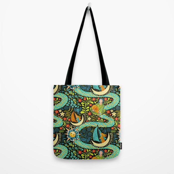 River of Stars Tote Bag