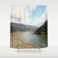 australia Shower Curtains featuring Highlands - Australia by Chris' Landscape Images & Designs