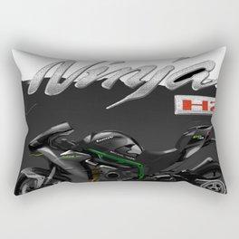Ninja - Kawasaki T-Shirts And Accessories Rectangular Pillow