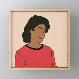 Clair Huxtable. Poster. Print Framed Mini Art Print