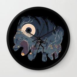 Sir Daniel Fortesque Wall Clock