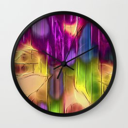 Chromatic Discovery Wall Clock